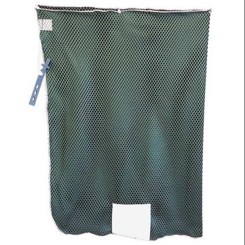 Mesh Laundry Bag,Green,With Closure,PK12 G0174505