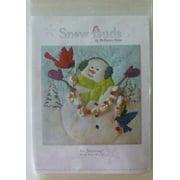 McKenna Ryan~SNOW BUDS~Pre-Cut Laser Applique Kit w/Fabric~It's Snowing~BUD02