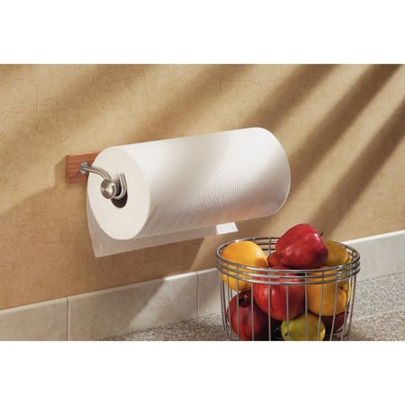 InterDesign Formbu Paper Towel Holder, Wall Mounted
