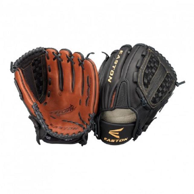 RVFP1200 Easton Softball Mitt 12 In For Rht Thrower, Black
