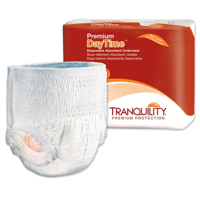 Tranquility Premium DayTime Adult Underwear, EX-LARGE, XL, Heavy Absorbency, 2107 - Case of 56