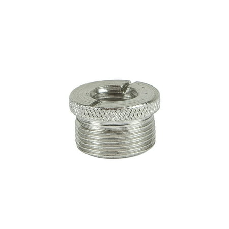 """MONOPRICE Screw Thread Adapter for Microphone Stand (5/8"""" male to 3/8"""" female)"""