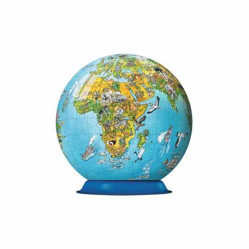 Illustrated World Puzzle Globe (270 pieces)