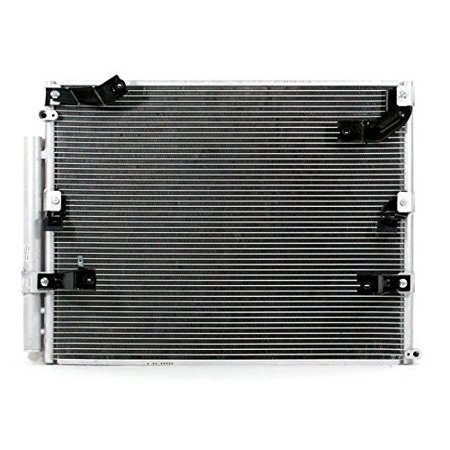 A-C Condenser - Pacific Best Inc For/Fit 3024 Oct'98-07 Toyota Land Cruiser Lexus LX470 WITH Dual