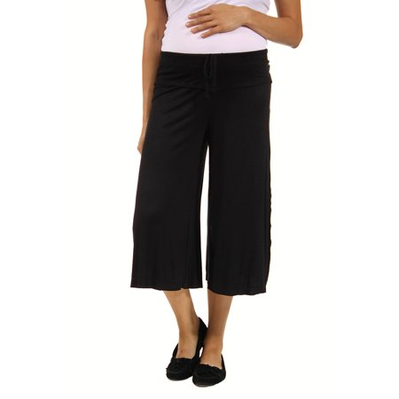 Women's Maternity Draw String Knee-Length (Drag Pants)
