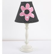 Cotton Tale  Girly Lamp and Shade - Multi