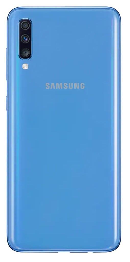 Samsung Galaxy A70 A705m 128gb Gsm Unlocked Dual Sim Blue Walmart Com Walmart Com