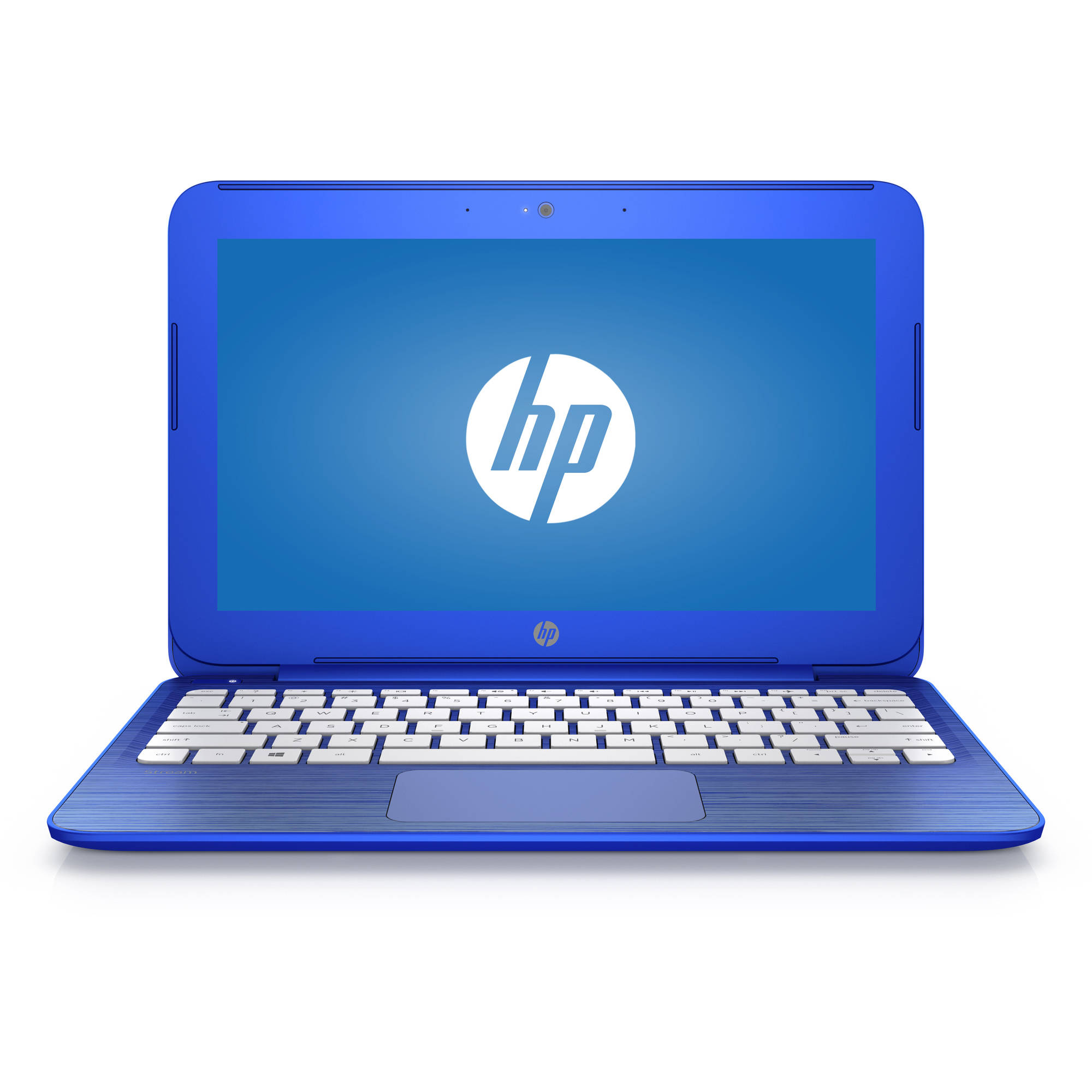 "Refurbished HP Cobalt Blue 11"" Stream Laptop PC with Intel Celeron N3050 Dual-Core Processor, 2GB Memory, 32GB Hard Drive and Windows 10 Home"