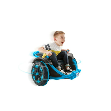 Power Wheels Wild Thing 360 Spinning Ride-On Vehicle, Blue