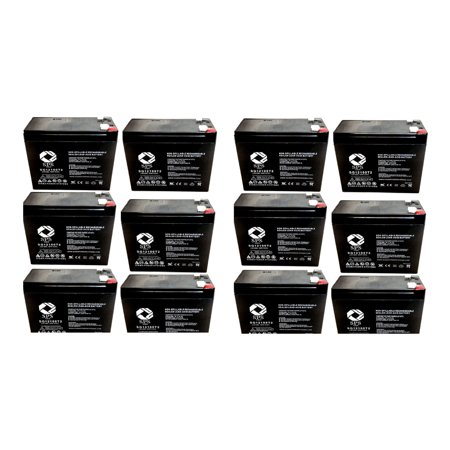 SPS Brand 12V 10Ah Replacement Battery for Sonnenschein 7000 (12 Pack)