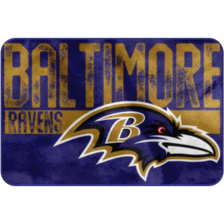 "NFL Baltimore Ravens ""Worn Out"" Mat, 20"" x 30"""