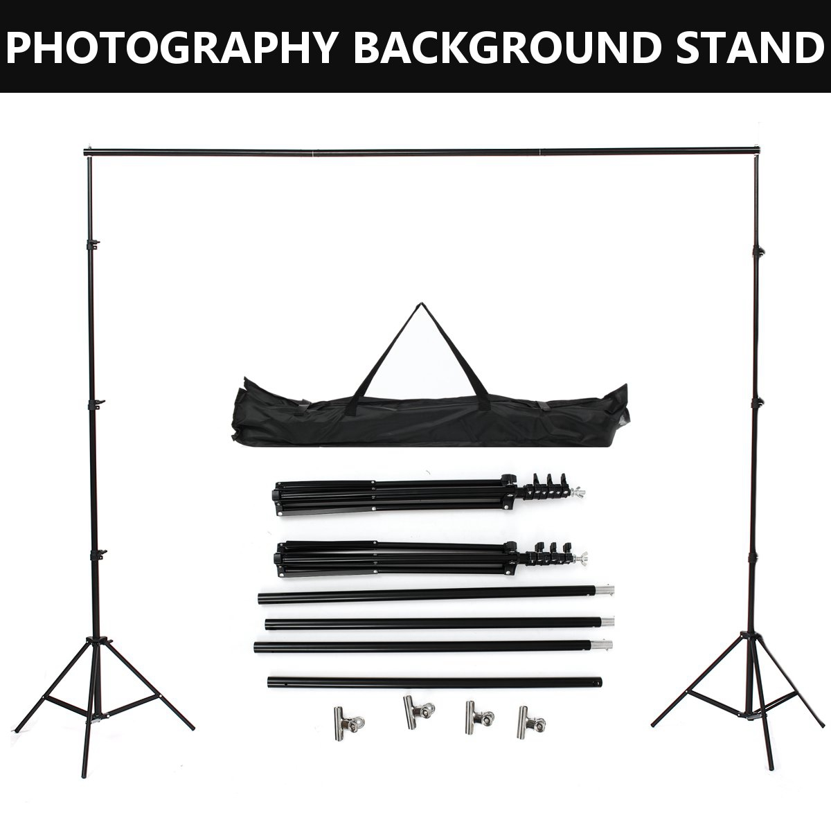 Color : Pink Background Video Stand Photo Studio Background Backdrop Stand Kit,Photography Support System,Product Photography and Video Shooting