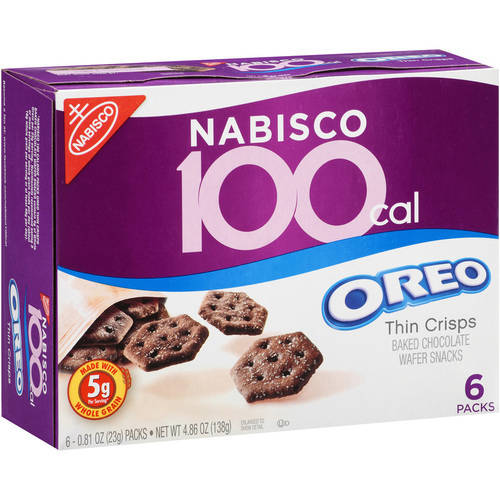 Nabisco 100 Calorie Packs Oreo Thin Crisps, 4.86 oz