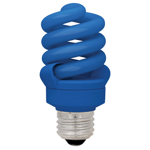 TCP Spring Blue Autism Speaks CFL Bulb, 14W