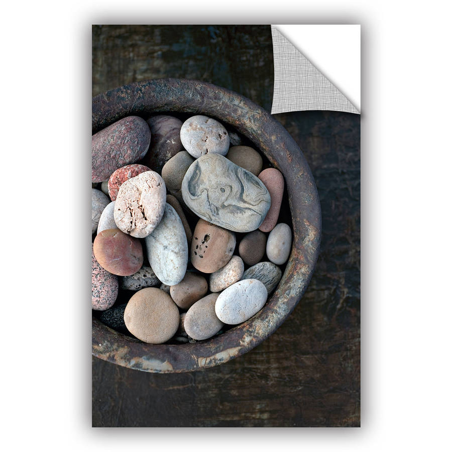 "ArtWall Elena Ray ""Still Life Stone Bowl"" Art Appeals Removable Wall Art"