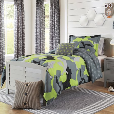 Better Homes And Gardens Kids Camo Lime Bedding Comforter