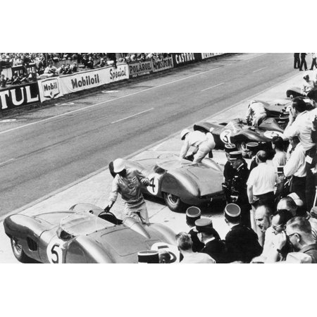 Start of the Le Mans 24 Hours, France, 1959 Print Wall
