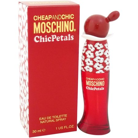 Moschino Cheap And Chic Chic Petals for Women Eau de Toilette, 1 oz