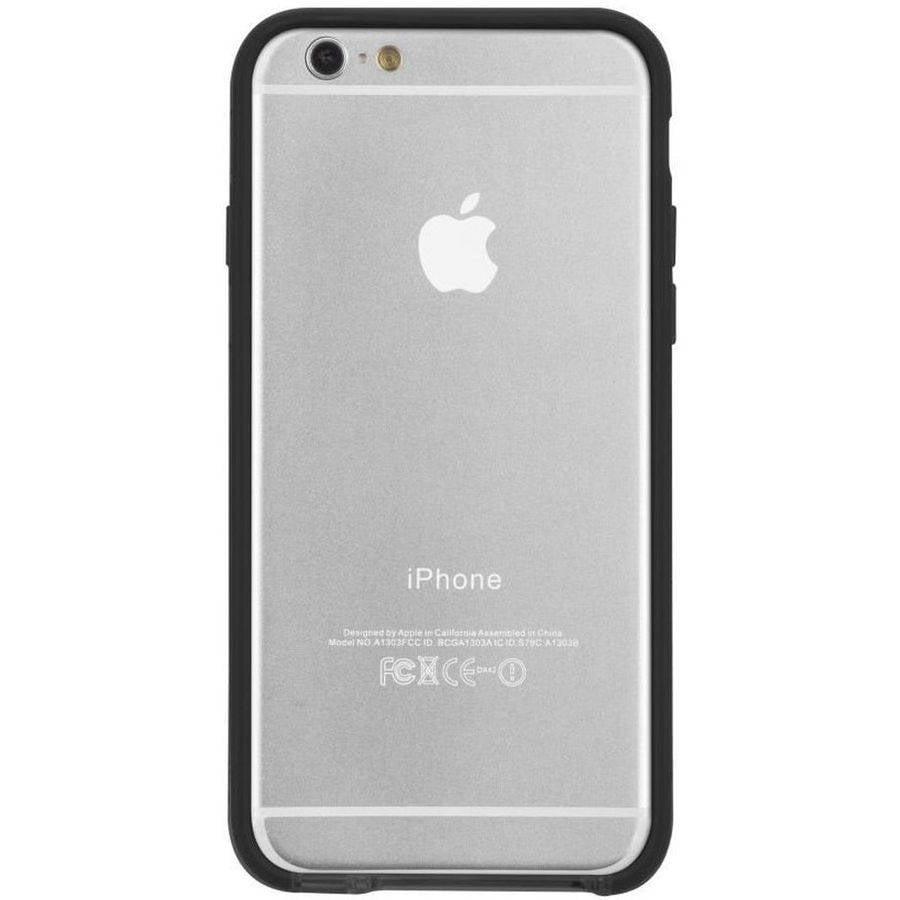 Case Mate Apple iPhone 6,6s Tough Frame Case, Clear,Black