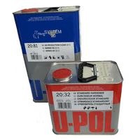 U-Pol 2K HS Production Clear Coat 2:1, UP2812, 5 Liter with Hardener