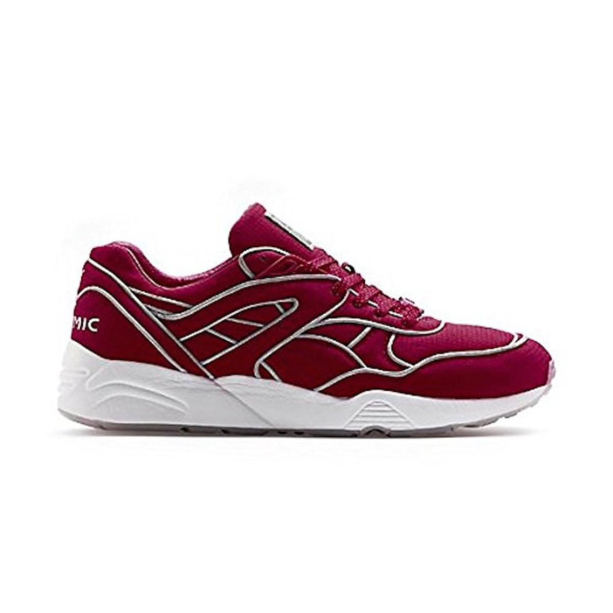PUMA - Puma Trinomic Mens Fiery Red Sneakers - Walmart.com 6d991808d