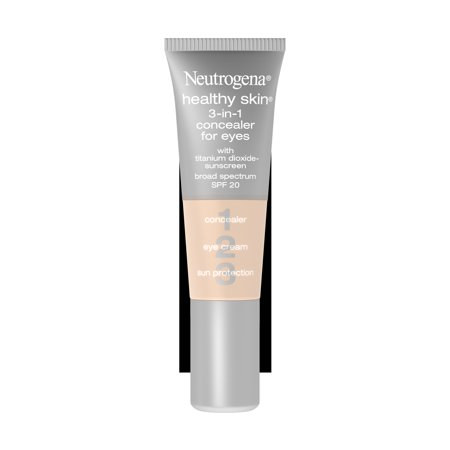 Neutrogena Healthy Skin 3-In-1 Concealer For Eyes Broad Spectrum Spf 20, Fair 05,.37 (Revlon Eye Concealer)