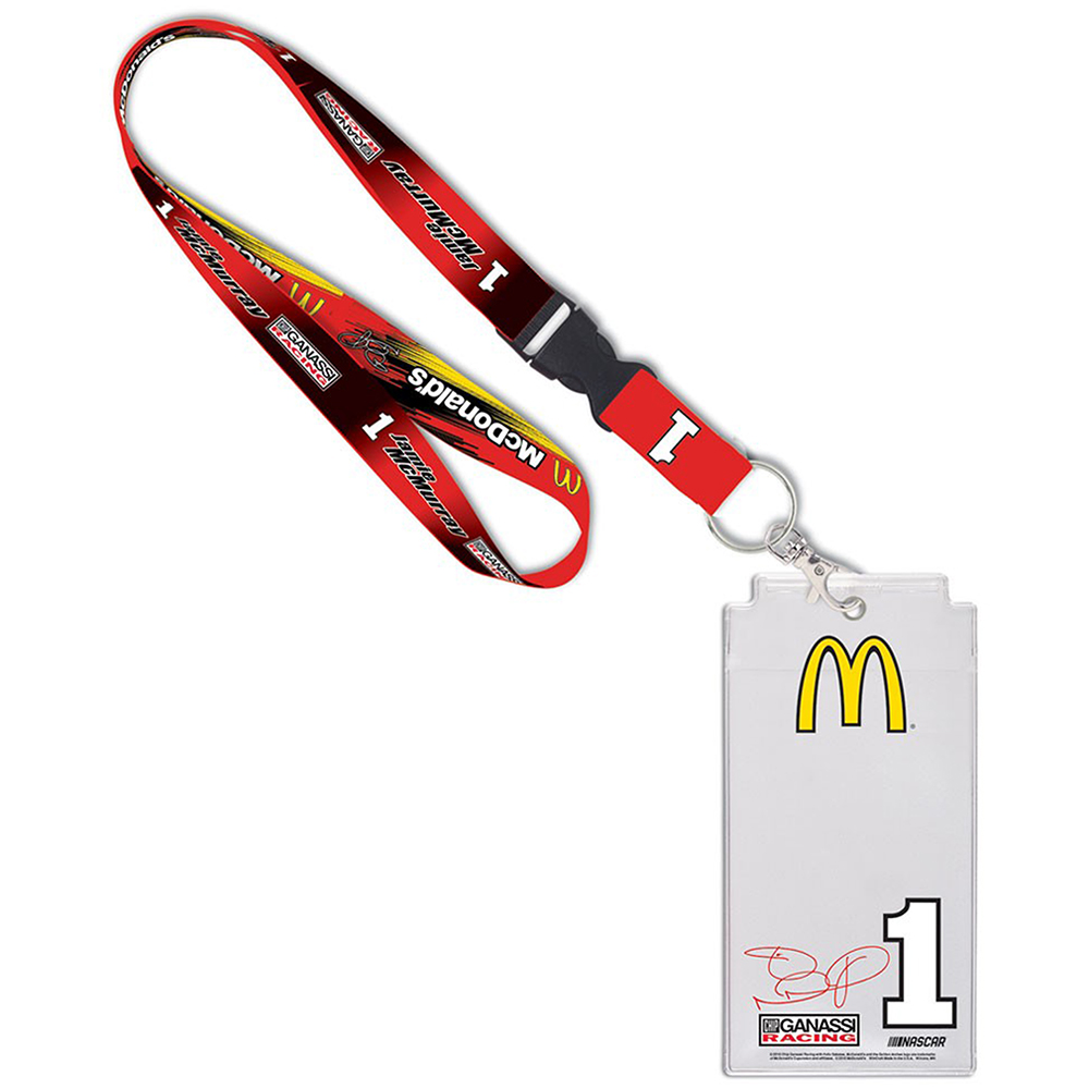 Jamie McMurray WinCraft McDonalds Name and Number Credential Holder - No Size
