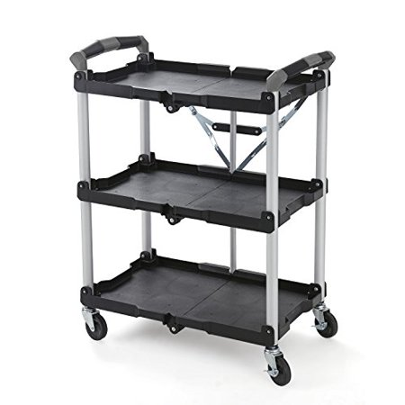Olympia Tools Collapsible Service Cart Easy Storage Durable Lightweight Aluminum