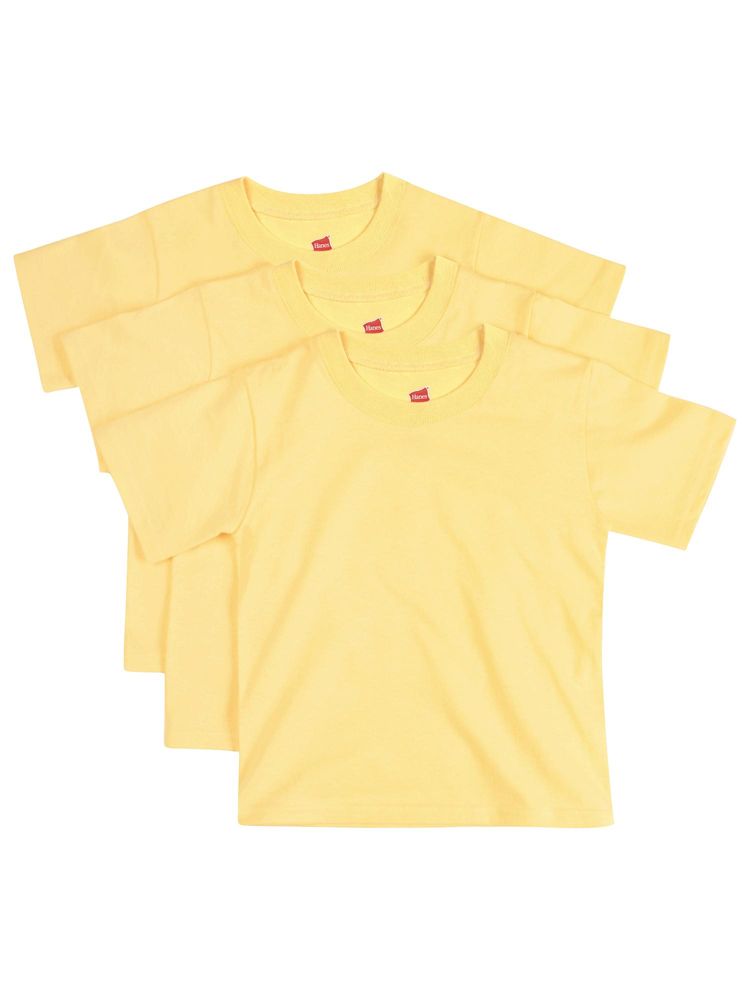 Baby Toddler Short Sleeve Tee - 3-pack