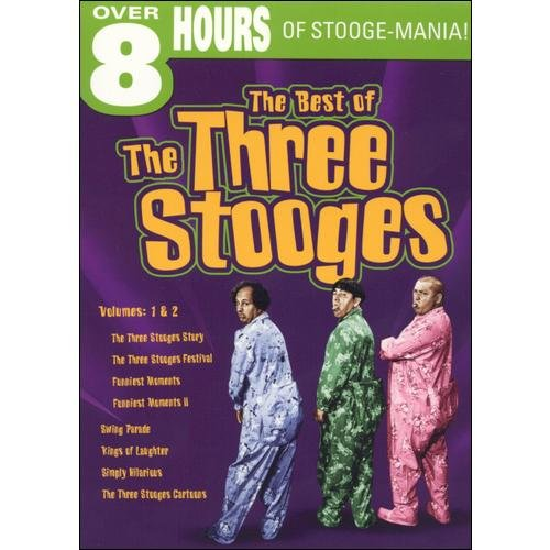 The Best of the Three Stooges, Vol. 1 & 2 by