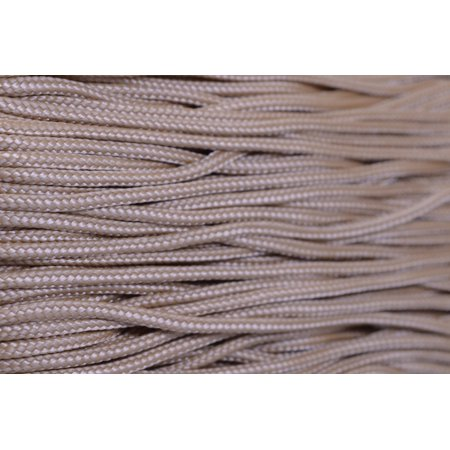 95 Cord - Light Tan - Type 1 Cord - 100 Feet on Plastic Winder - Bored Paracord Brand