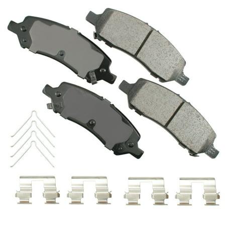 Disc Brake Pad Set ACT1647 for 13-16 Dodge Dart