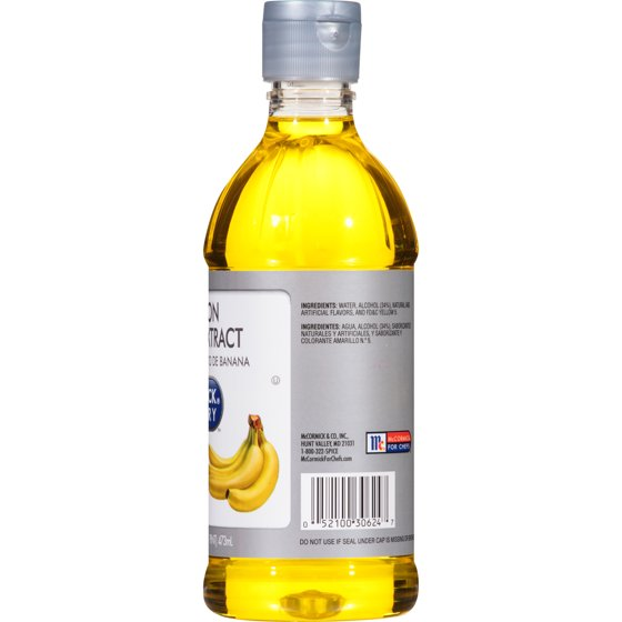 McCormick Culinary Imitation Banana Extract, 1 pt - Walmart.com