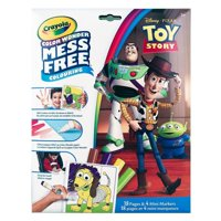 Crayola Color Wonder Mess Free Colouring Toy Story - 18 pages and 4 Mini Markers