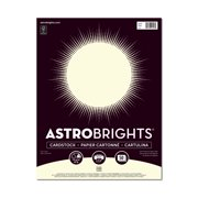 Astrobrights Colored Cardstock, Cream, 50 Sheets