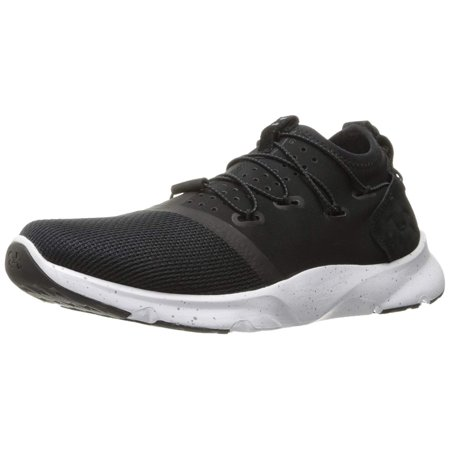 Under Armour Womens Drift 2 Low Top Bungee Running, Black (001)/White, Size 12.0
