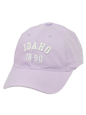 Product Image Idaho Gem State USA America 1890 Lilac Adjustable Womens  Relaxed Hat Cap Ladies 833bed994f68