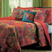 Global Trends Josie Reversible Bedding Quilt Bonus Set