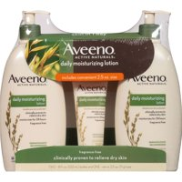 Aveeno Active Naturals Daily Moisturizing Lotion, 18 Fl Oz, 2 Ct
