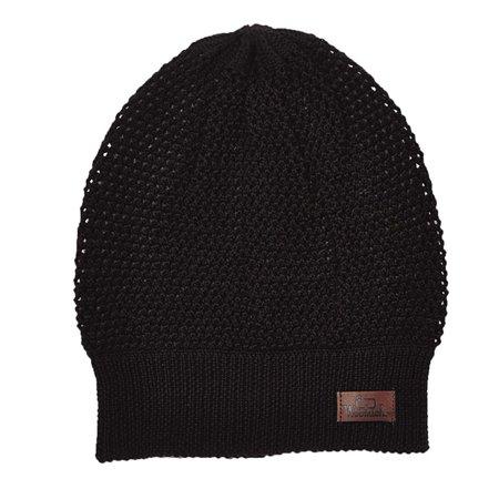 d0bfc7cfd0e Woolrich Unisex Wool Blend Open Knit Slouch Beanie Hat Black OS -  Walmart.com