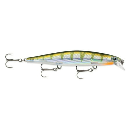 Rapala Shadow Rap SDR-11 Jerkbait Shallow Diving 11cm Bass Lure YP Yellow Perch
