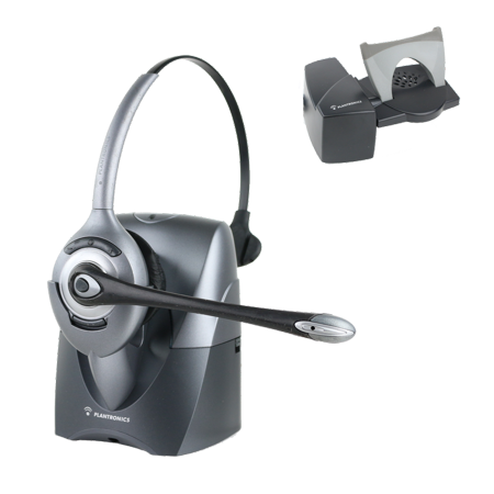 Plantronics CS351N mono wireless headset WITH HL10 handse lifter (certified