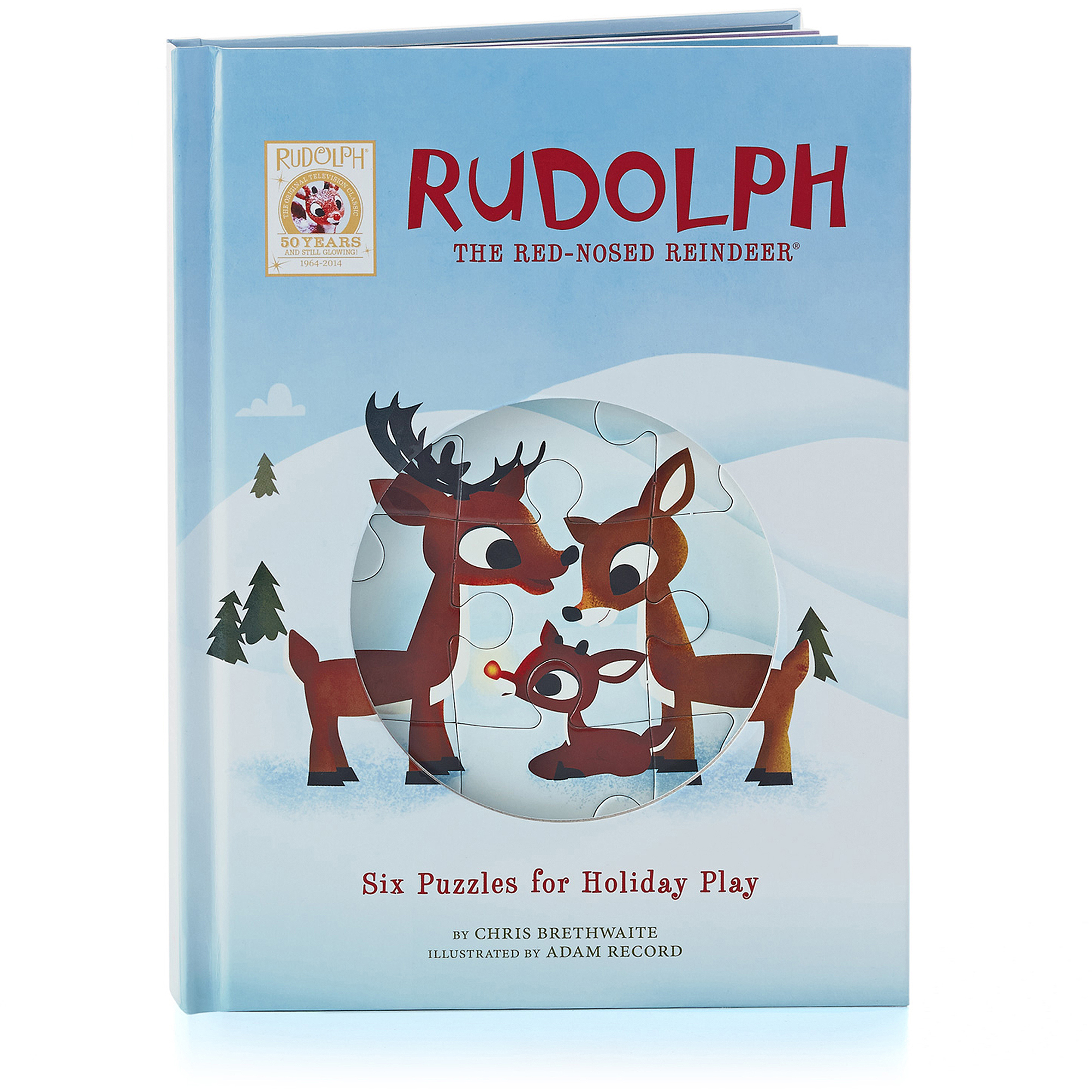 Hallmark Rudolph the Red-Nosed Reindeer Puzzle Book