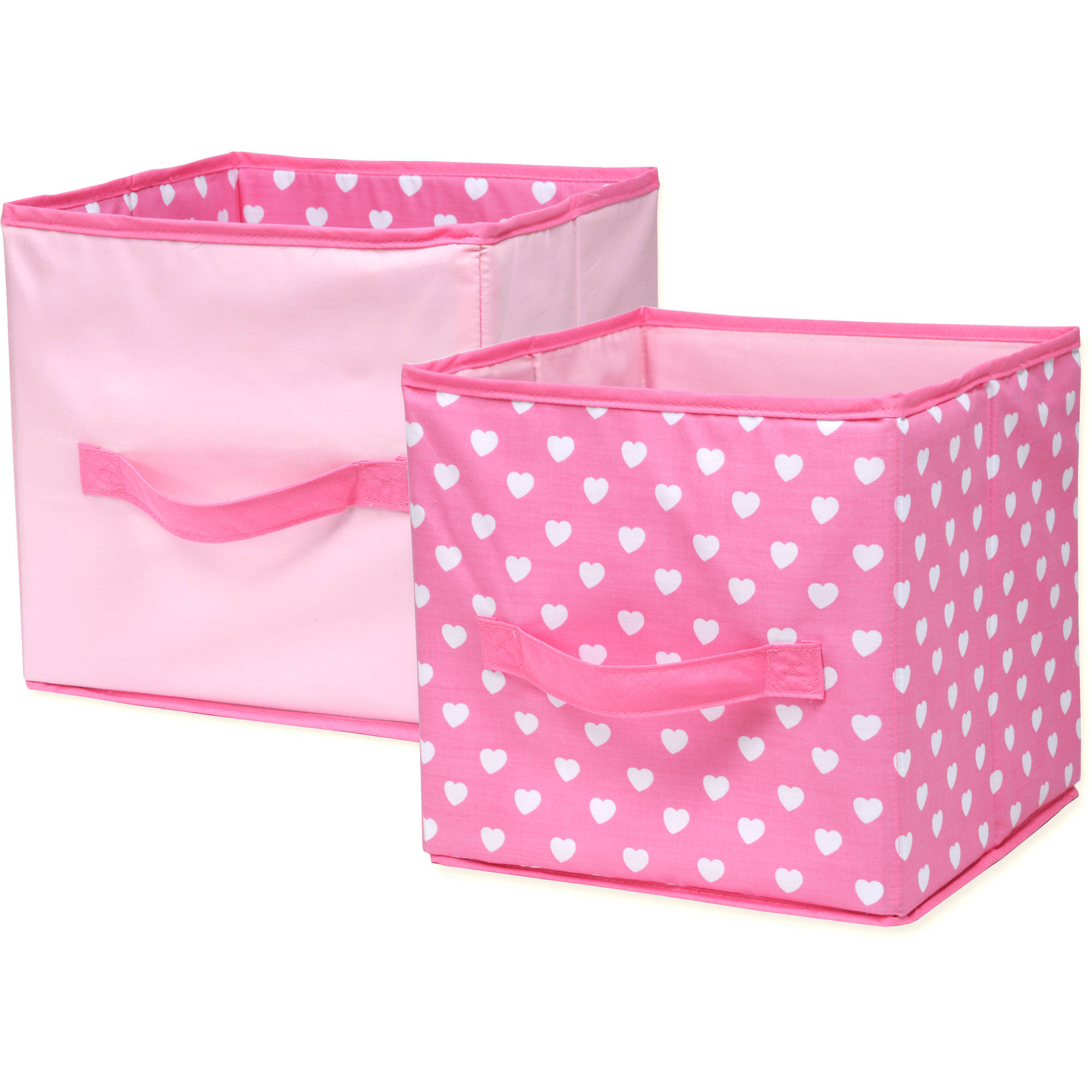 Little Bedding by Nojo Sweet Dreams Collapsible Storage Bin, 2pk