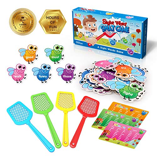 Shemira Sight Word Swat Game, Sight Word Educational Toy ...