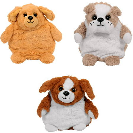 As Seen on TV Pop Out Pets Dogs- Bulldog, Golden Retriever, Beagle - Stuffed Bulldog