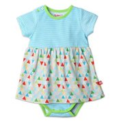 Zutano Romper Dress - Triangulum Design - For 6 Month Old