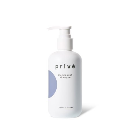 Privé Blonde Rush Shampoo - NEW 2019 FORMULA - Bright and Vibrant Blonde (8 fl oz/237 mL) Ideal for natural, highlighted and bleached blondes. Ideal for blonde