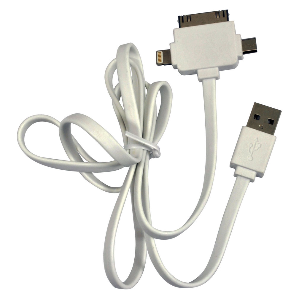 iPod Accessories iStuff USB Male to Lightning 8 pin + 30 Micro Cable
