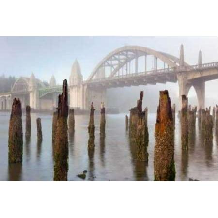Image of Suslaw River Bridge III Canvas Art - Kathy Mahan (24 x 36)